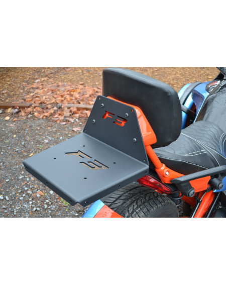 Support Porte paquet sur dosseret pour CAN-AM SPYDER F3