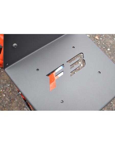 Support Porte paquet sur dosseret pour CAN-AM SPYDER F3