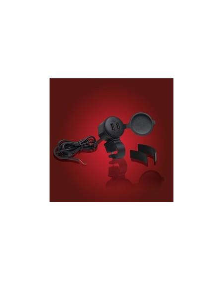 Chargeur USB 2 Ports pour guidon