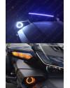 Anneaux Angel Eyes LED dual couleur pour spyder F3