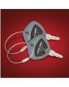 Clignotant Stinger LED noir/fumé universel KOSO