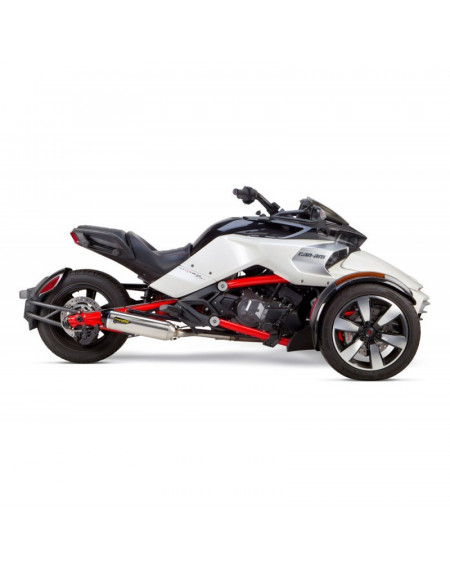 ECHAPPEMENT two bros S1R INOX CAN AM SPYDER F3