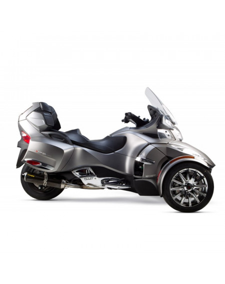 ECHAPPEMENT two brothers S1R EN CARBONE CAN AM SPYDER RT RS